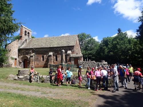 Pause Pique Nique à la chapelle de Saint Maurice
